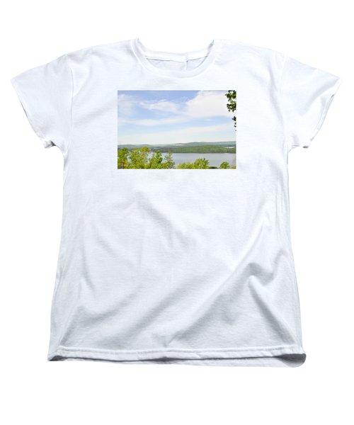 View Of The Mountains Of Alabama Women's T-Shirt (Standard Cut) by Verana Stark