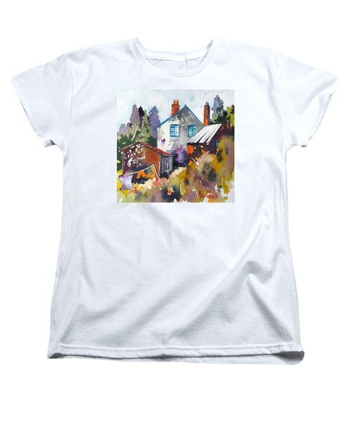 Village Life 1 Women's T-Shirt (Standard Cut) by Rae Andrews