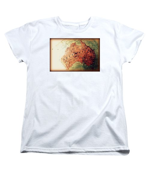 Women's T-Shirt (Standard Cut) featuring the photograph Vintage Australia by Faith Williams