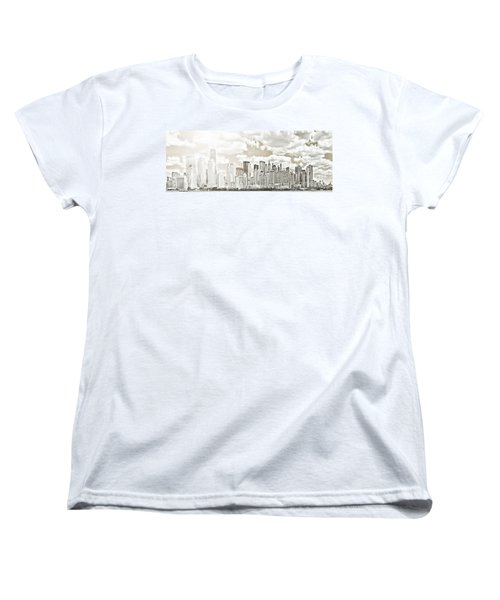 Women's T-Shirt (Standard Cut) featuring the photograph Visions In My Mind by Janie Johnson