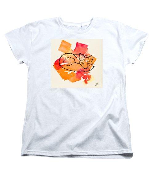 Vulpes Vulpes Women's T-Shirt (Standard Cut) by Stefanie Forck