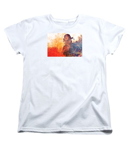Walk Through Hell Women's T-Shirt (Standard Cut) by Everet Regal