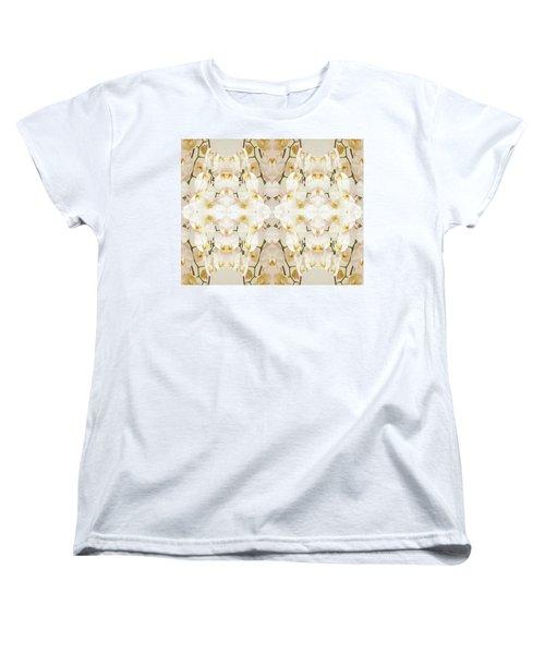 Wall Of Orchids II Women's T-Shirt (Standard Cut) by Paul Ashby