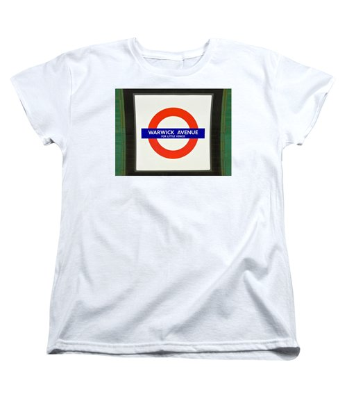Warwick Station Women's T-Shirt (Standard Cut) by Keith Armstrong