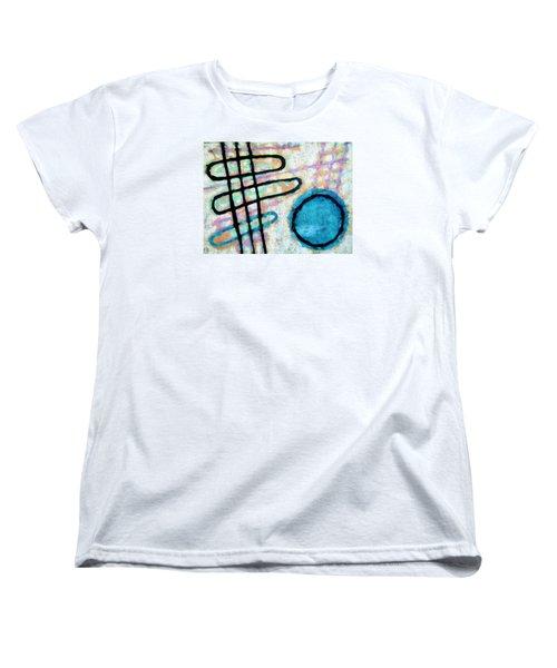 Water Frequency Women's T-Shirt (Standard Cut) by Maria Huntley