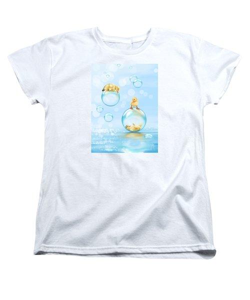 Water Games Women's T-Shirt (Standard Cut) by Veronica Minozzi