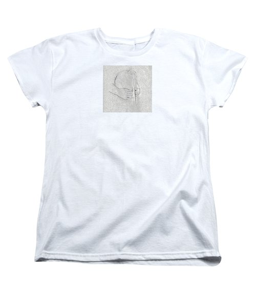 Women's T-Shirt (Standard Cut) featuring the photograph Waters Of Life by I'ina Van Lawick