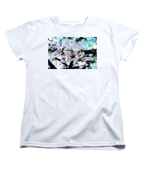 Women's T-Shirt (Standard Cut) featuring the photograph Blanche by Vanessa Palomino