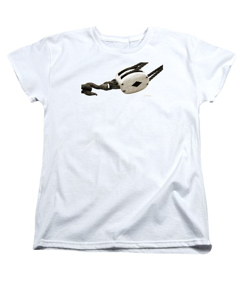 Weathered Pulley Women's T-Shirt (Standard Cut) by Holly Blunkall