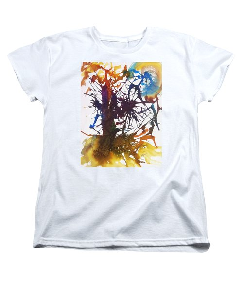 Web Of Life Women's T-Shirt (Standard Cut) by Ellen Levinson