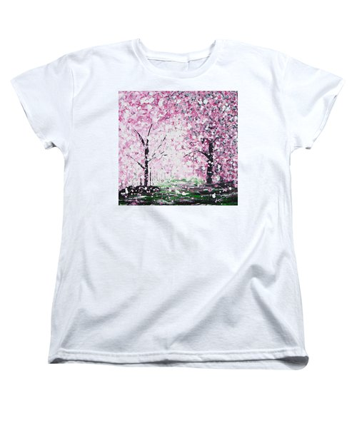 Welcome Spring Women's T-Shirt (Standard Cut) by Kume Bryant