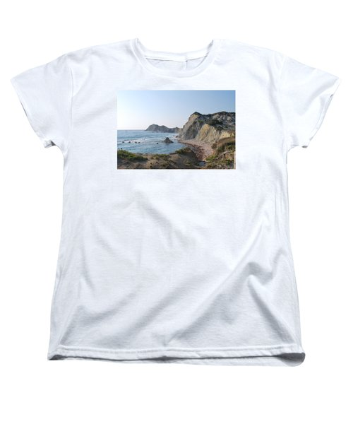 West Erikousa 1 Women's T-Shirt (Standard Cut) by George Katechis