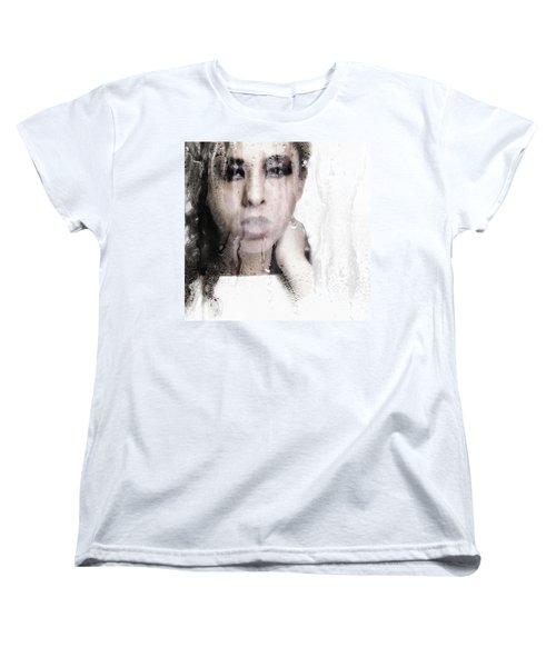 Wet Women's T-Shirt (Standard Cut) by Jessica Shelton