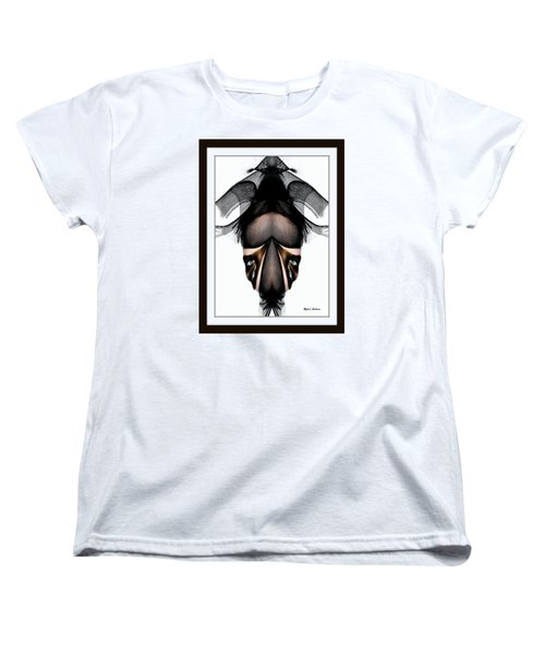 Women's T-Shirt (Standard Cut) featuring the painting What You See Is What You Get? by Rafael Salazar