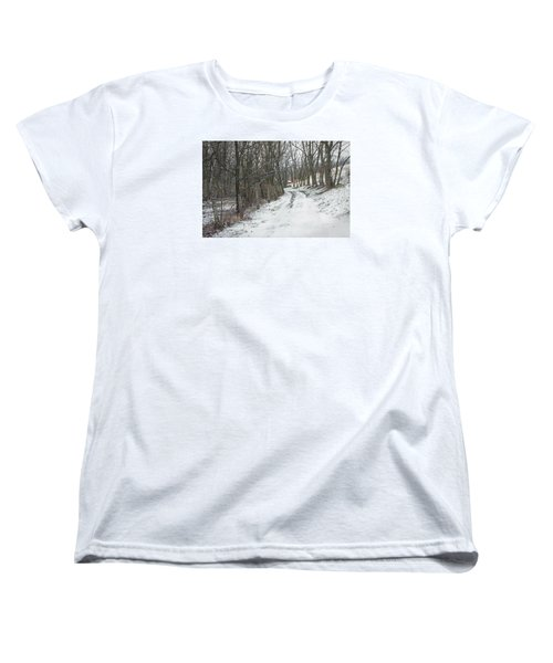 Where The Road May Take You Women's T-Shirt (Standard Cut) by Photographic Arts And Design Studio