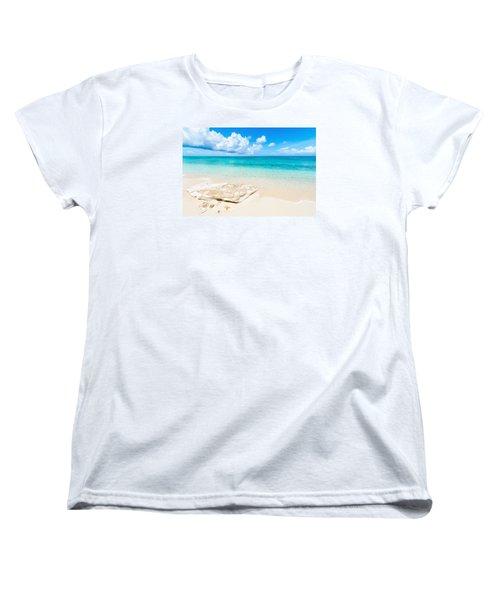 White Sand Women's T-Shirt (Standard Cut) by Chad Dutson