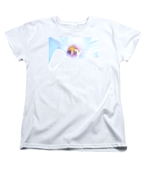 Women's T-Shirt (Standard Cut) featuring the photograph Whiteout by Greg Allore