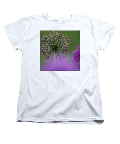 Wild Onion Women's T-Shirt (Standard Cut) by Heiko Koehrer-Wagner