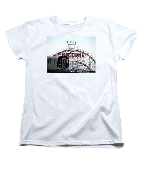 Women's T-Shirt (Standard Cut) featuring the photograph Wild Rides by Ed Weidman