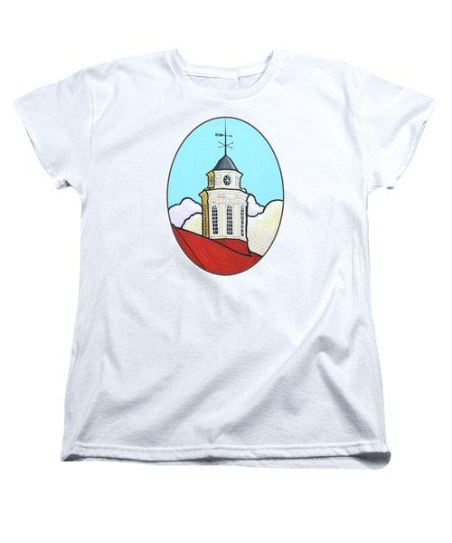 Wilson Hall Cupola - Jmu Women's T-Shirt (Standard Cut) by Jim Harris