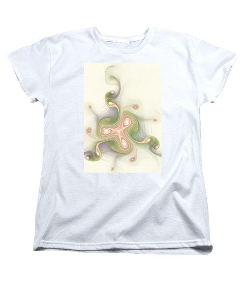 Winding Women's T-Shirt (Standard Cut) by Svetlana Nikolova