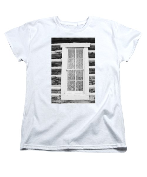 Women's T-Shirt (Standard Cut) featuring the photograph Window To The Old West by Diane Alexander