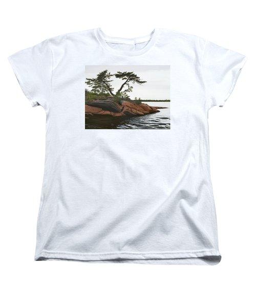 Windswept Women's T-Shirt (Standard Cut) by Kenneth M  Kirsch