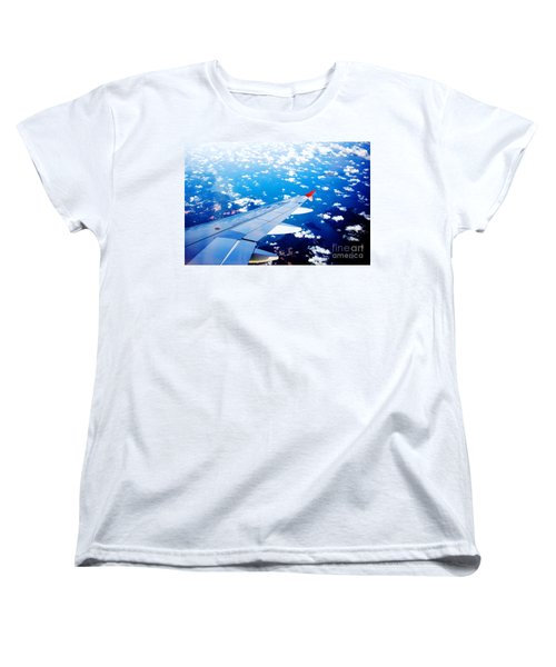 Wings And Clouds Women's T-Shirt (Standard Cut)