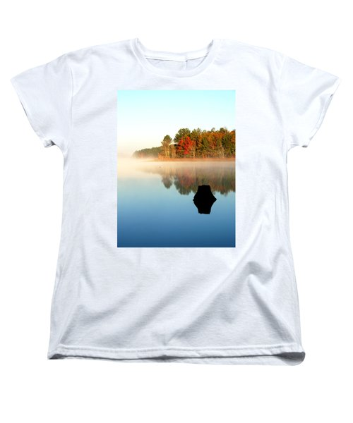Winnsboro Reservoir-1 Women's T-Shirt (Standard Cut) by Charles Hite