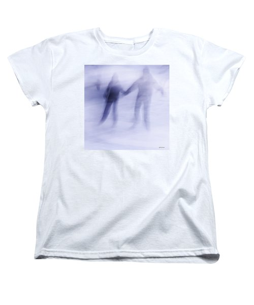 Winter Illusions On Ice - Series 1 Women's T-Shirt (Standard Cut)