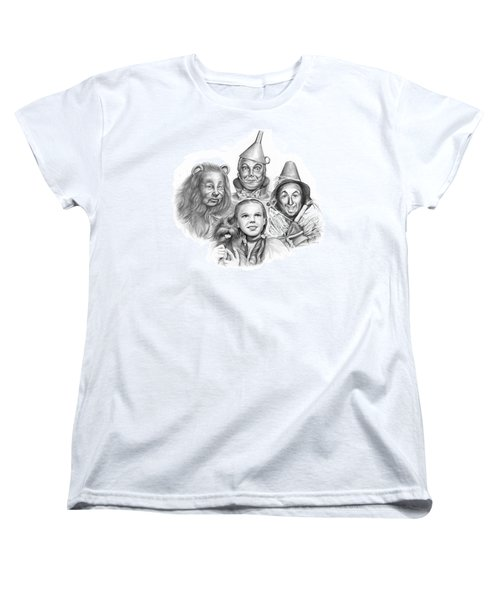 Wizard Of Oz Women's T-Shirt (Standard Cut) by Greg Joens