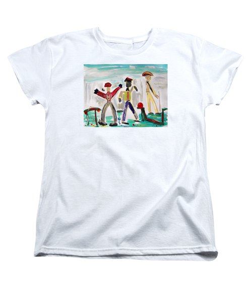 Working Women's T-Shirt (Standard Cut) by Mary Carol Williams