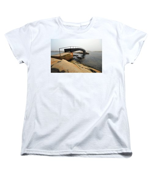 Women's T-Shirt (Standard Cut) featuring the photograph World's End 3 by Randi Grace Nilsberg