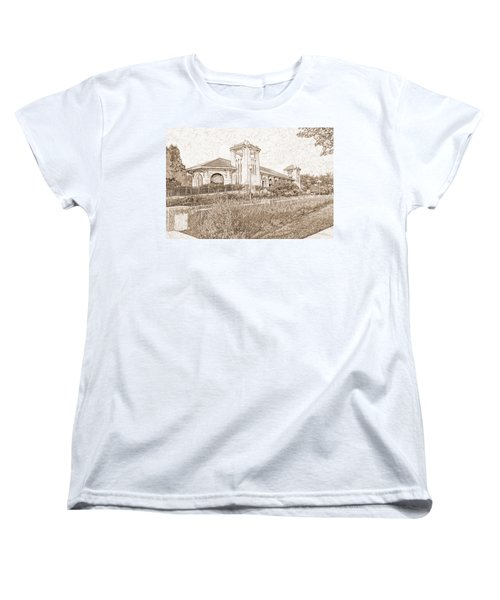World's Fair Pavilion At Forest Park St Louis Women's T-Shirt (Standard Cut) by Greg Kluempers