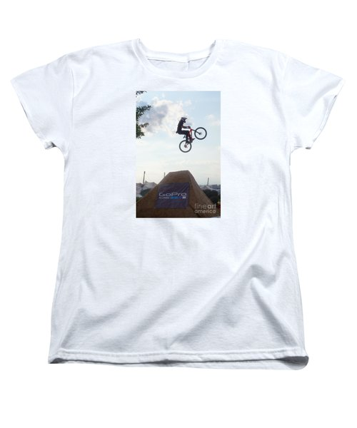 Women's T-Shirt (Standard Cut) featuring the photograph X Games Munich 4 by Rudi Prott