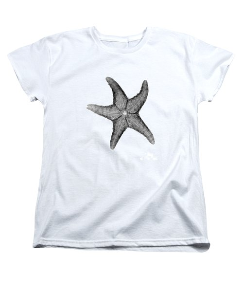 X-ray Of Starfish Women's T-Shirt (Standard Cut) by Bert Myers