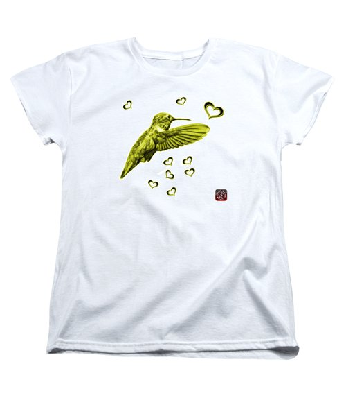 Yellow Hummingbird - 2055 F S M Women's T-Shirt (Standard Cut) by James Ahn