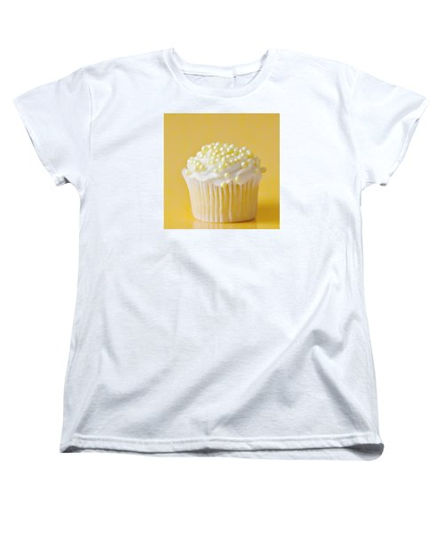 Yellow Sprinkles Women's T-Shirt (Standard Cut) by Art Block Collections