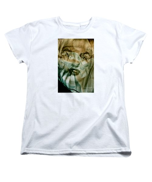 Yesterday's News Women's T-Shirt (Standard Cut) by Michael Cinnamond