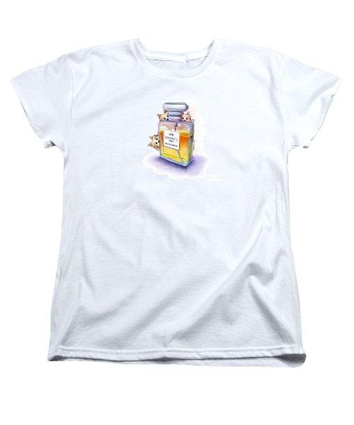 Yorkie Chanel Crazies Women's T-Shirt (Standard Cut) by Catia Cho