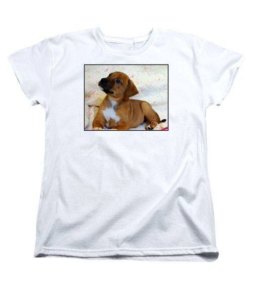 Women's T-Shirt (Standard Cut) featuring the photograph   Take Me Home Please by Peggy Franz