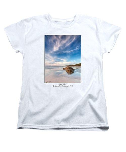 Welsh Coast - Porth Colmon Women's T-Shirt (Standard Cut) by Beverly Cash