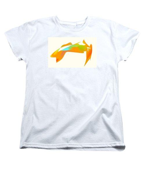 Falcon Pond Women's T-Shirt (Standard Cut) by Kevin McLaughlin
