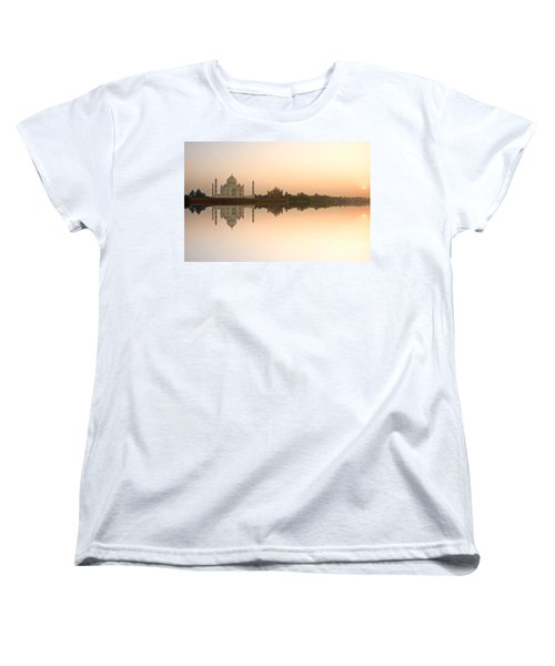 Women's T-Shirt (Standard Cut) featuring the photograph Taj Mahal  by Luciano Mortula