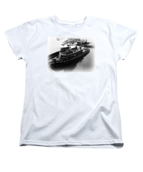 Women's T-Shirt (Standard Cut) featuring the photograph Tug  by Kristine Nora
