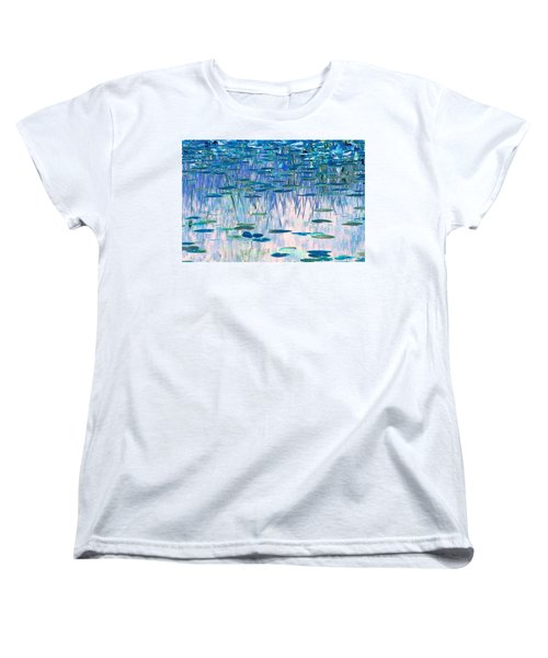 Water Lilies Women's T-Shirt (Standard Cut) by Chris Anderson