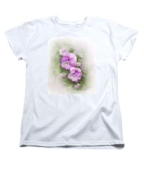 Viola Women's T-Shirt (Standard Cut) by Bonnie Willis