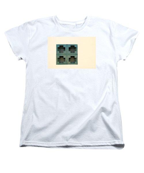 Windows Women's T-Shirt (Standard Cut) by Henrik Lehnerer