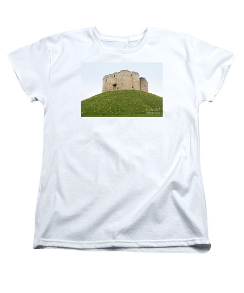 Scenes From The City Of York  Women's T-Shirt (Standard Cut) by Carol Ailles