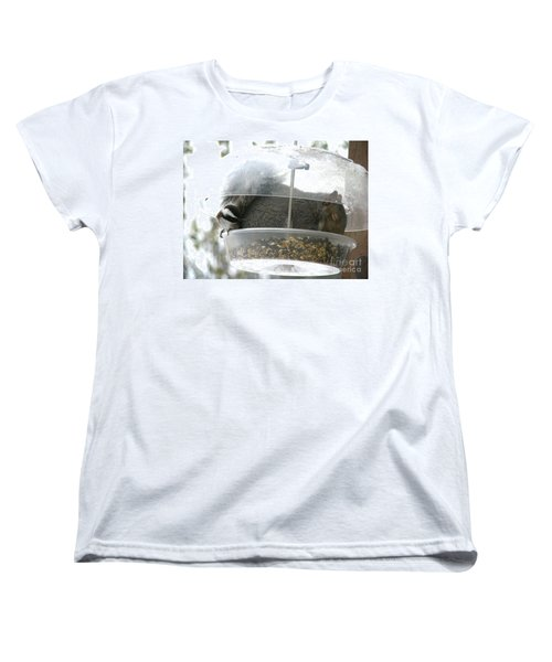 Women's T-Shirt (Standard Cut) featuring the photograph A Bit Crowded by Rory Sagner